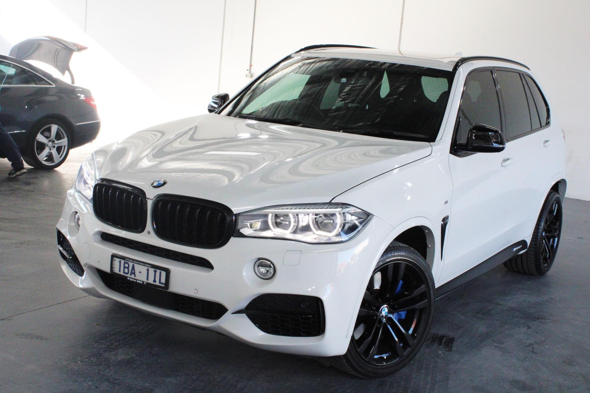 2013 BMW X5 M50d F15 Turbo Diesel Automatic - 8 Speed Wagon