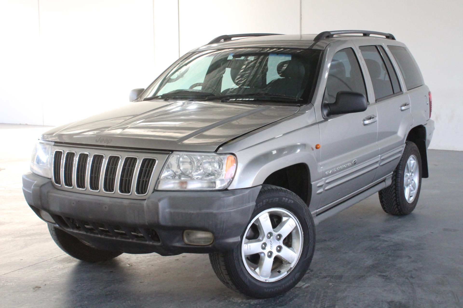 2002 Jeep Grand Cherokee Overland (4x4) WG Automatic Wagon