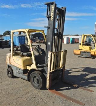 Hyster GLP25RK 4 Wheel Counterbalance Forklift