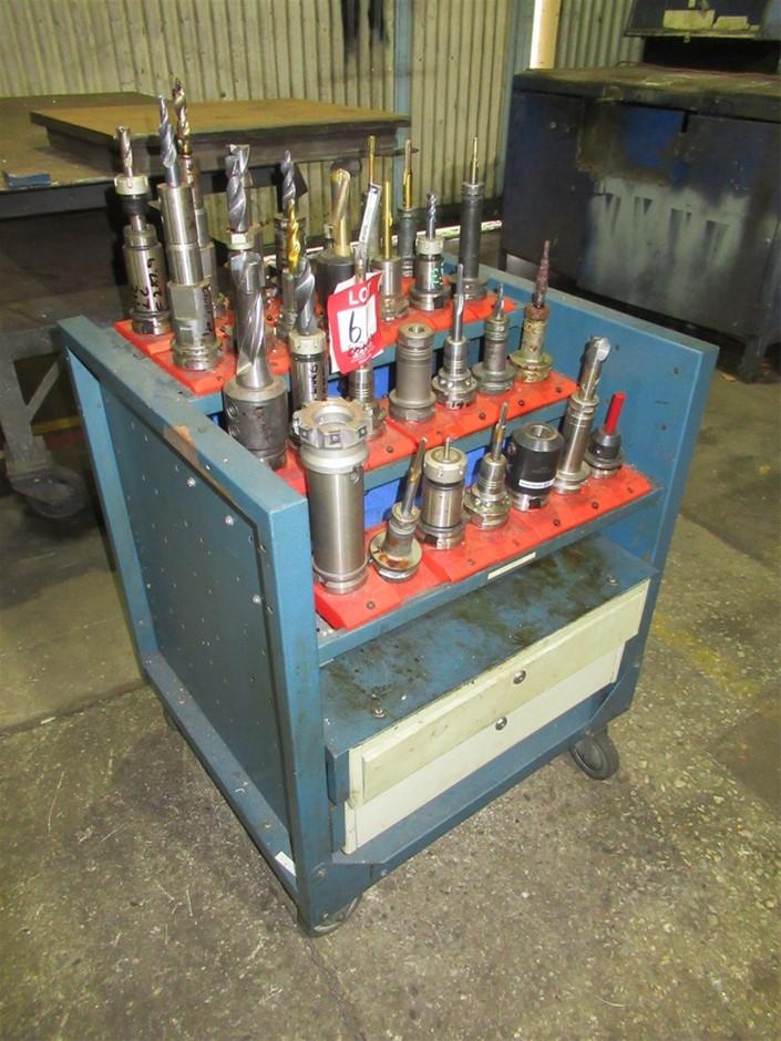 CNC Machine Tooling & Trolley
