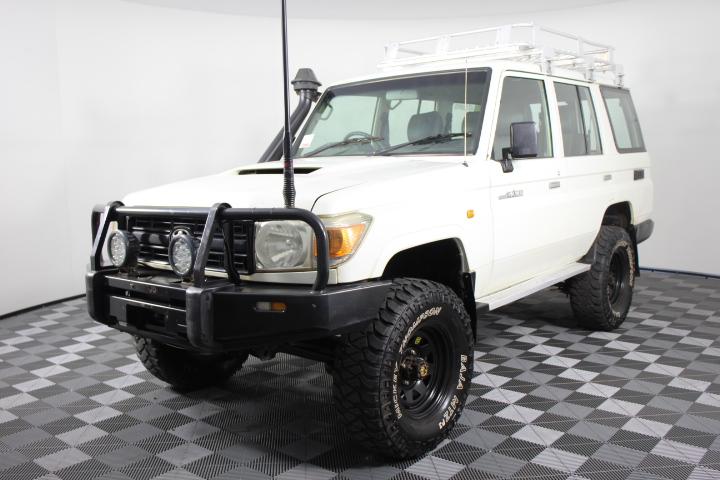 2007 Toyota Landcruiser Workmate (4x4) T/Diesel Wagon 166,946km