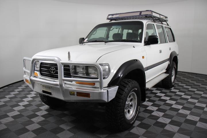 1997 Toyota Landcruiser GXL Diesel (4x4) HZJ80 7 Seats Wagon