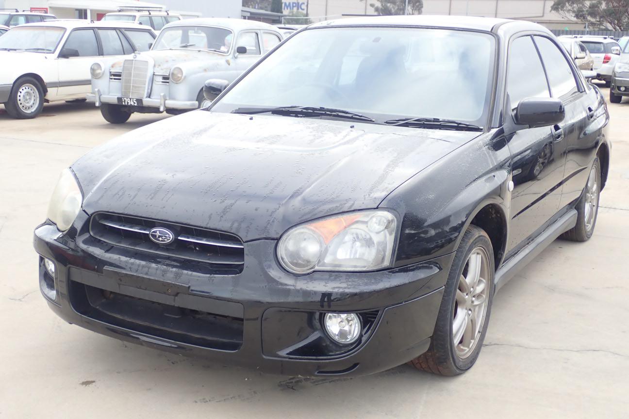 2004 Subaru Impreza RX (AWD) G2 Manual Sedan (WOVR-REPAIRABLE)