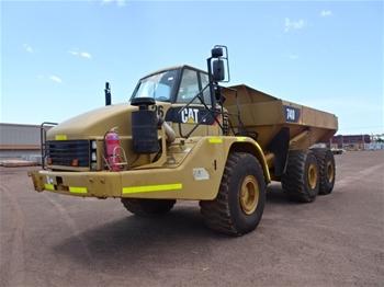 Caterpillar 740 Articulated Dump Truck (B-Type)
