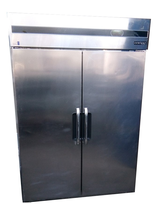 SKOPE CENTAUR STAINLESS STEEL SOLID UPRIGHT COMMERCIAL HALF REFRIGERATOR /