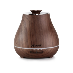 Devanti Aroma Diffuser - Dark Wood
