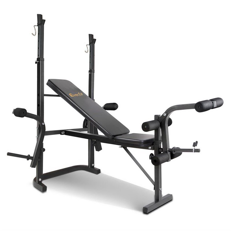 Everfit 7-in-1 Weight Bench Black Frame