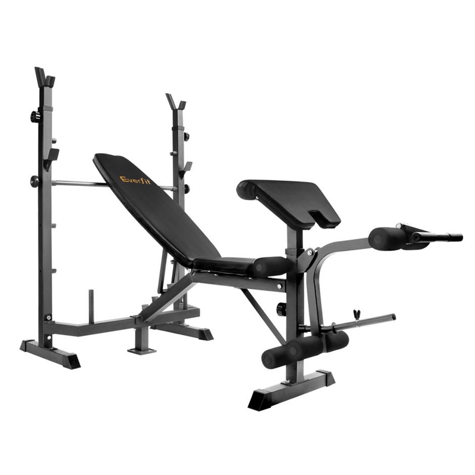 Multi Function Fitness Bench - Black