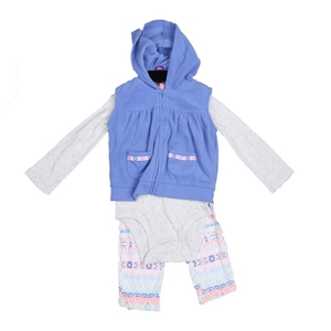 2 x CARTER`S 3pc Girl`s Winter Clothing