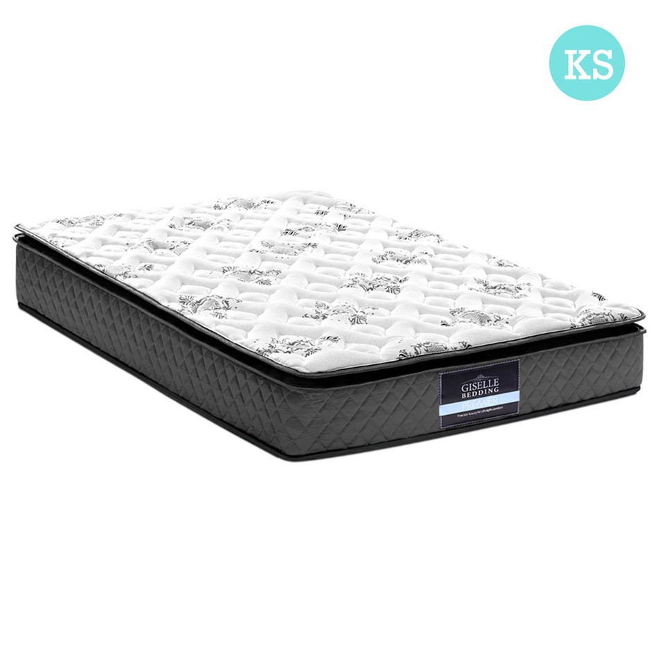 Giselle Bedding King Single Size Pillow Top Foam Mattress