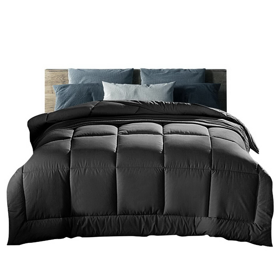 Giselle Bedding 400GSM Microfiber Microfibre Comforter - Queen