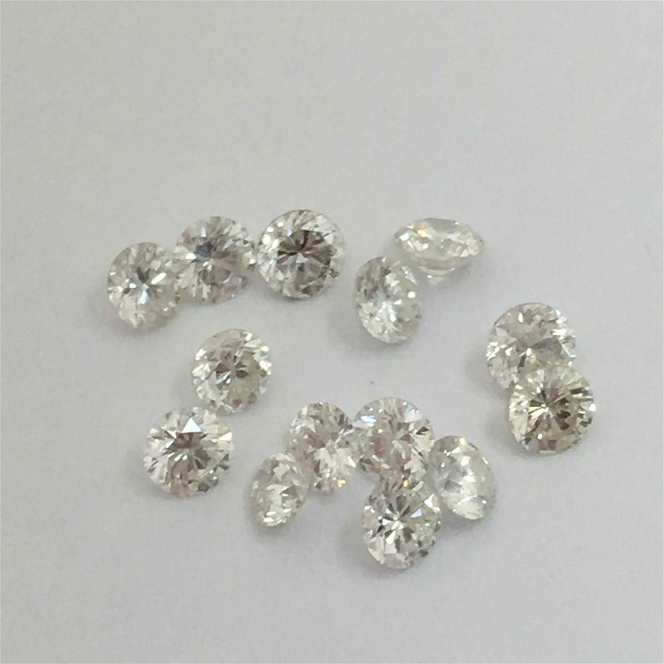 0.30ct Twelve Stones Natural Diamond