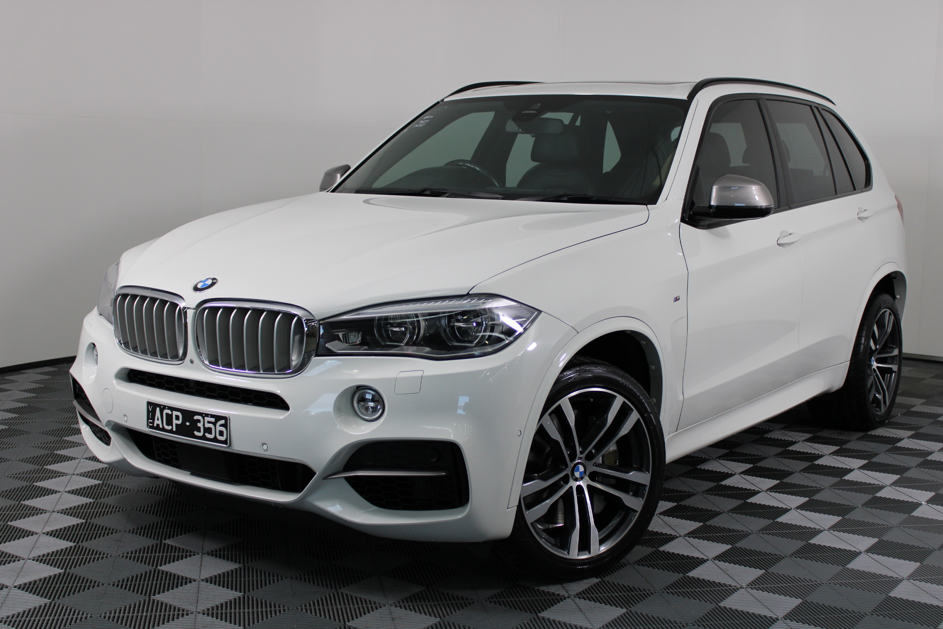2014 BMW X5 M50d F15 Turbo Diesel Automatic - 8 Speed 7 Seats Wagon