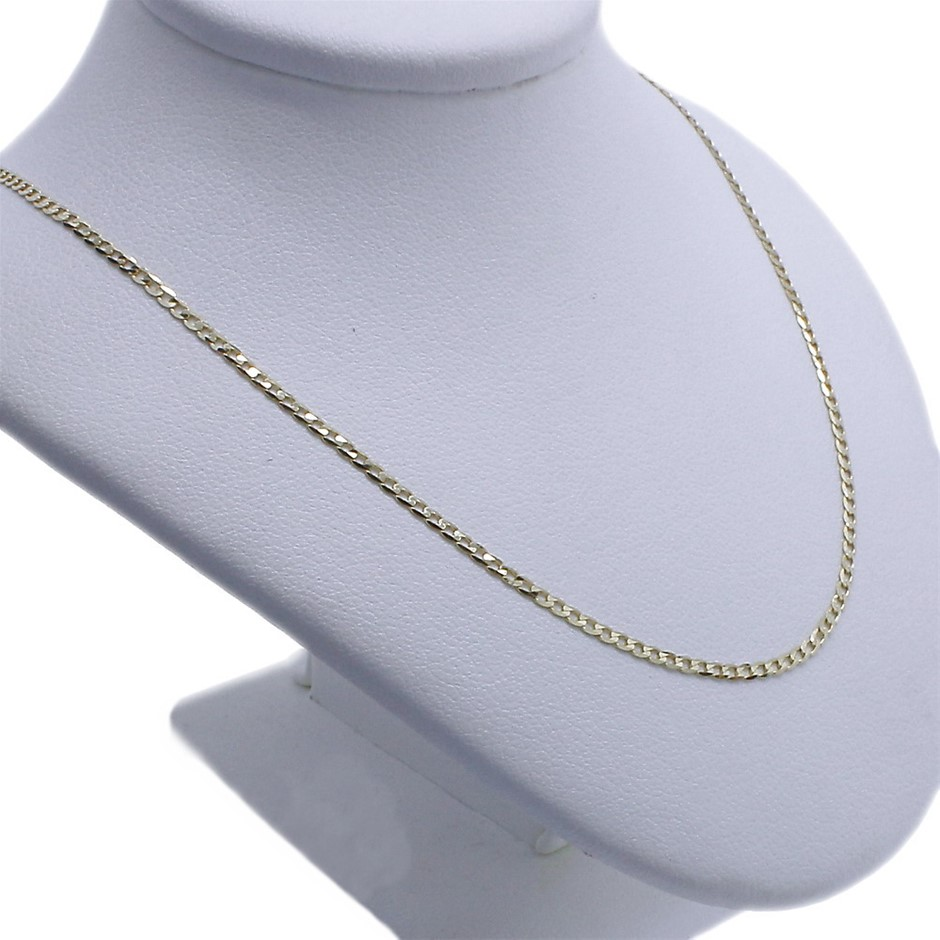 9 Karat Yellow Gold Chain Necklace