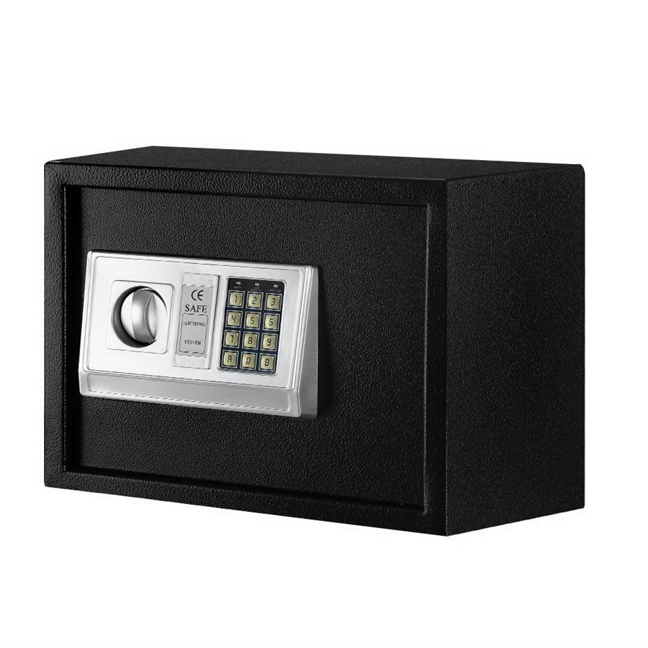 UL-TECH Electronic Digital Safe Security Box Home Office Cash Deposit 16L