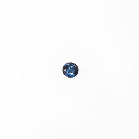 0.31ct Round brilliant cut blue diamond