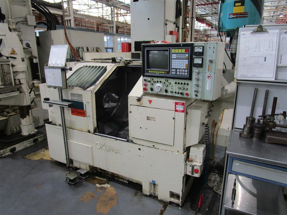 Okuma LB15 CNC Lathe with Swarf Conveyer
