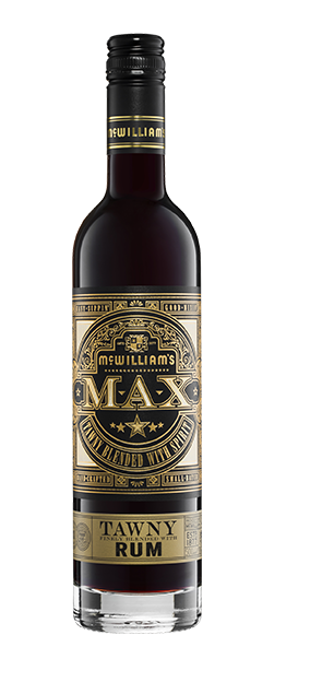 McWilliam`s Max Tawny Blended with Rum NV (6 x 500mL), SE AUS