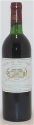Chateau Margaux 1er Grand Cru 1982 (1x 750mL),Margaux,Bordeaux,France. Cork