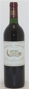 Chateau Margaux 1er Grand Cru 1989 (1x 7