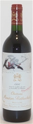 Chateau Mouton-Rothschild 1er Grand Cru 1996 (1 x 750mL), Pauillac,Bordeaux