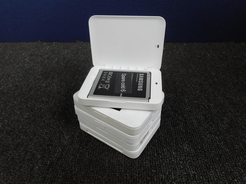 Qty 5 x Samsung Galaxy S4 EP-B600CEWE External Battery Charger