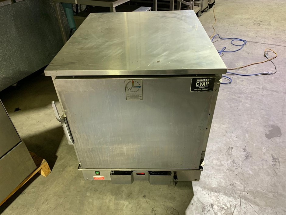 CVAP Dual Sided Holding Cabinet
