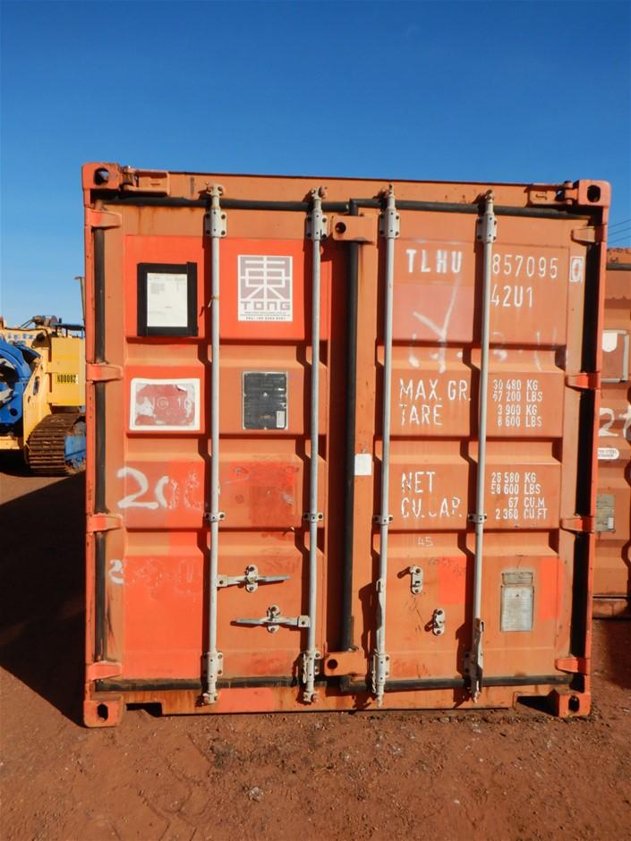 Open Top Container, 40 Foot, Standard Height (B-Type ...