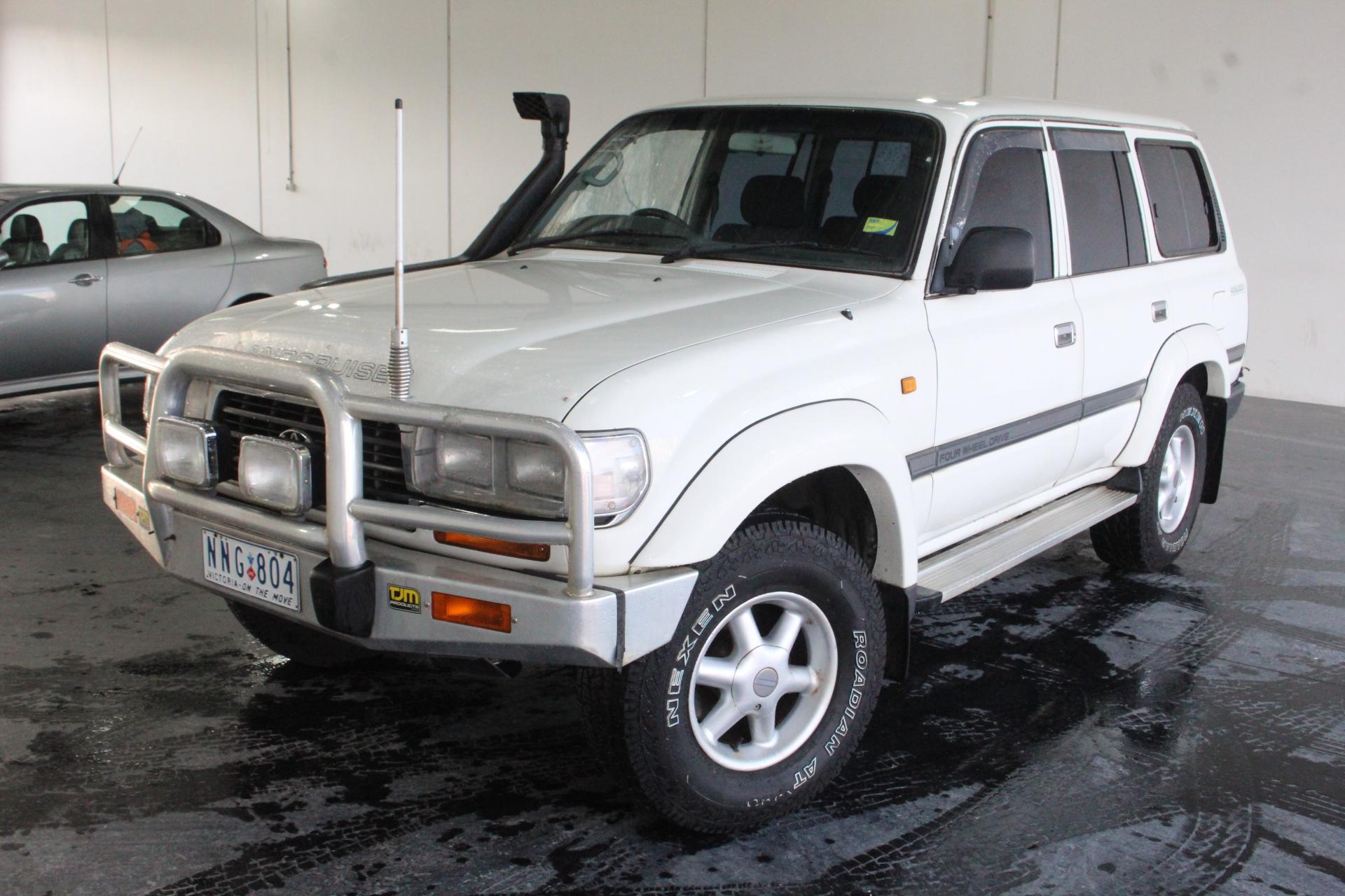 1995 Toyota Landcruiser GXL (4x4) FZJ80 Automatic 8 Seats Wagon