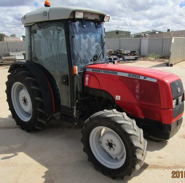 2002 Massey Ferguson 3350F 4WD Tractor