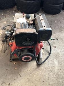 Yanmar 1 Cylinder Diesel Engine with 12v Alternator