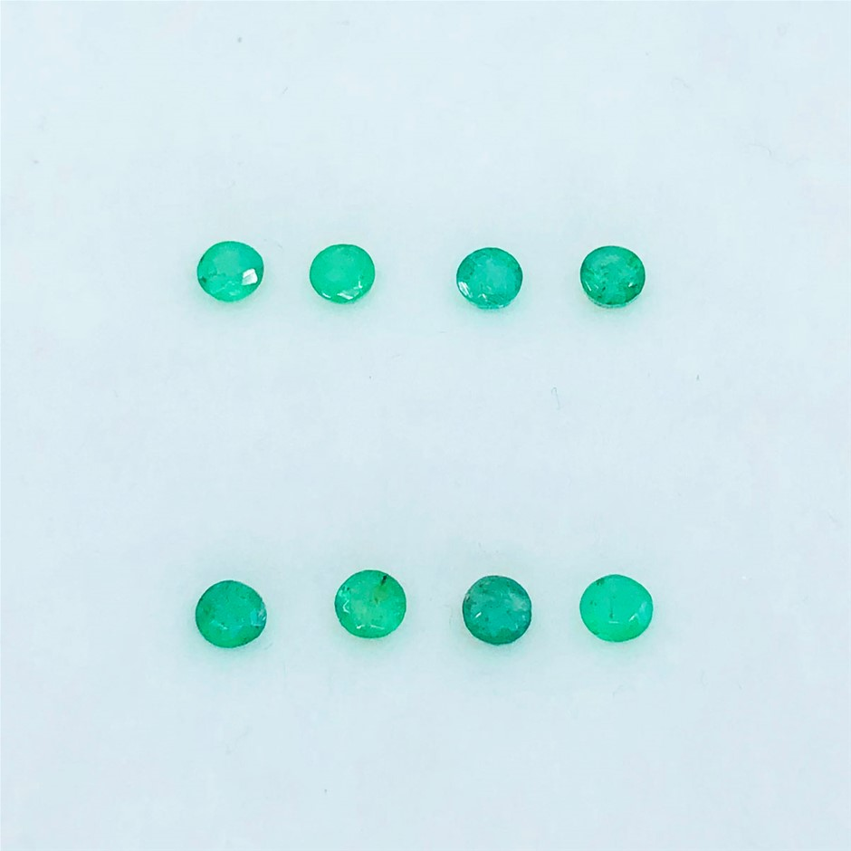 1.12 ct - Parcel of Round Cut Natural Emerald