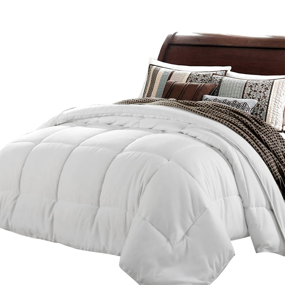 Giselle Bedding 800GSM Microfibre Quilt Ultra-Warm Winter Double