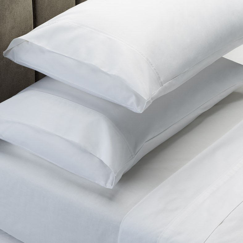 Royal Comfort Soft Touch 1000TC Cotton Blend sheet Set - Queen - White