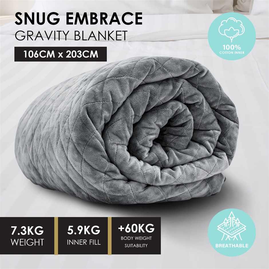 Royal Comfort Snug Embrace Weighted Gravity Blanket