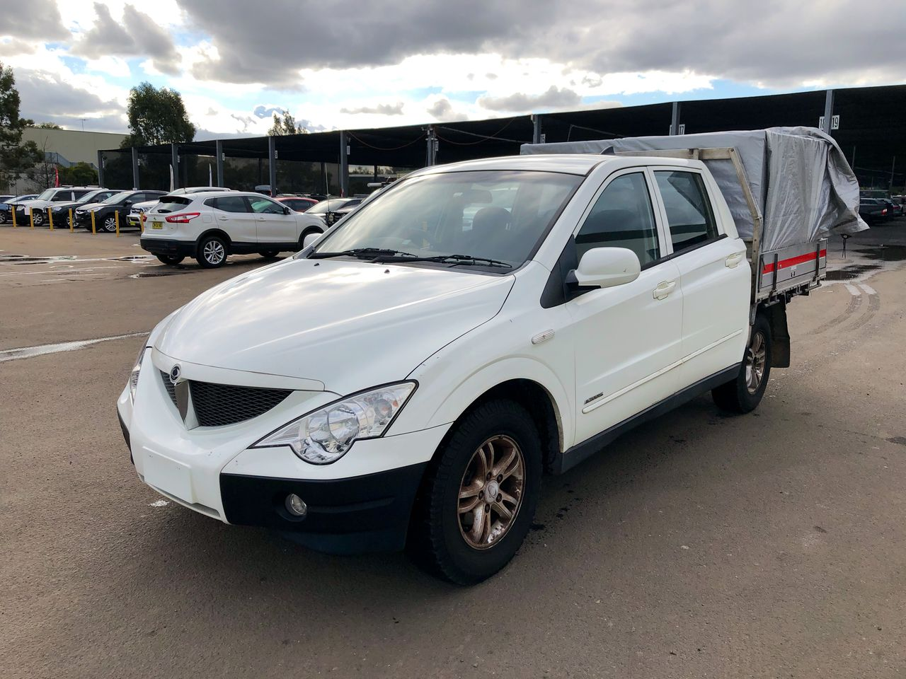 2008 Ssangyong Actyon Sports 4X2 BASE Turbo Diesel Manual Dual Cab