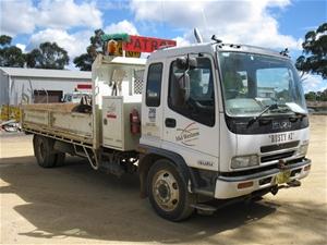 truck - tipper, 2000 isuzu fsr 700 long, 4x2 auction (0009-5000433