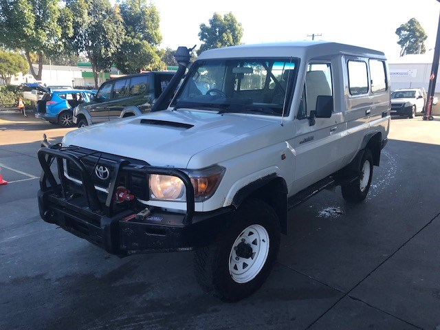 2013 Toyota Landcruiser Workmate 4WD Manual Troop Carrier