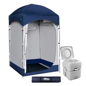 WEISSHORN 20L Outdoor Portable Toilet Ca