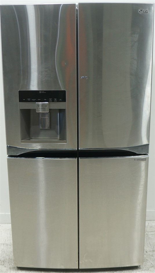 LG 712L Stainless Steel 5 Door French Door Refrigerator with Door-In-Door