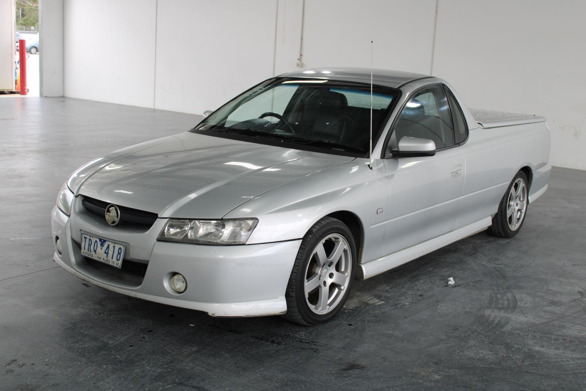 2005 Holden Commodore S VZ Manual Ute