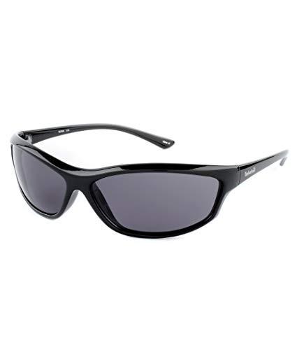 TIMBERLAND Men`s Sunglass, Black Frame with Timber Tinted Smoke Grey Lens i