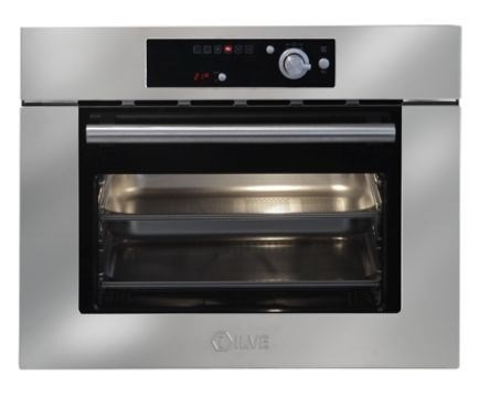 ILVE 35L/60cm Stainless Steel Combination Steam Oven (645LTKST)