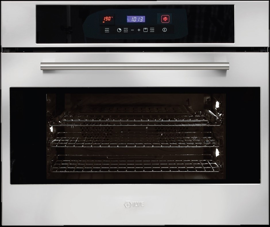 ILVE 75cm Built-In Pyrolytic Oven - Stainless Steel (ILO759XP)