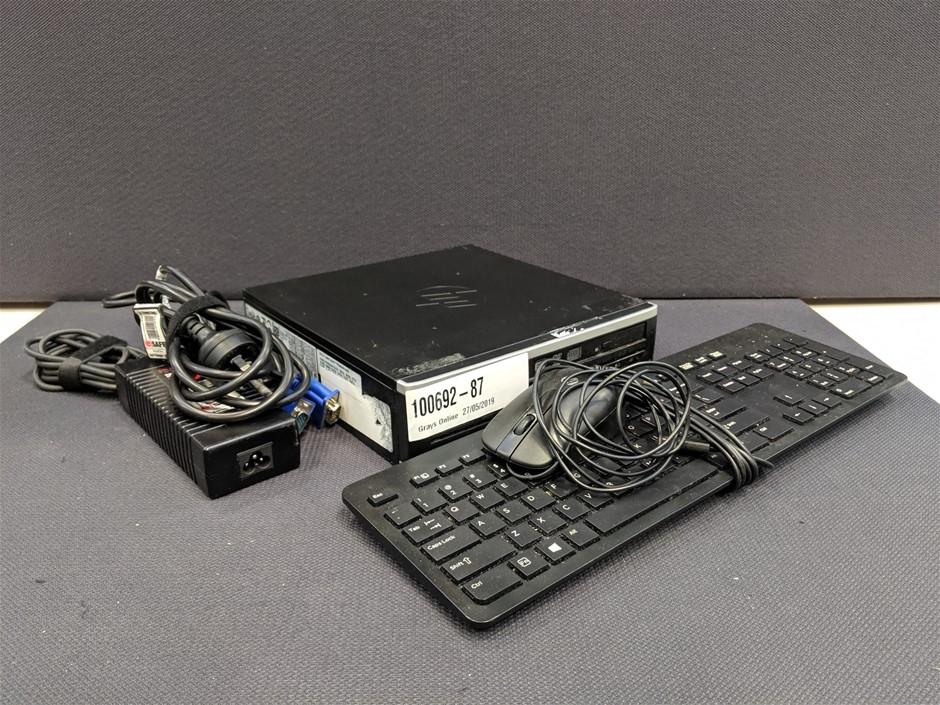 HP Compaq 8200 Elite USDT PC Slimline Case Desktop PC