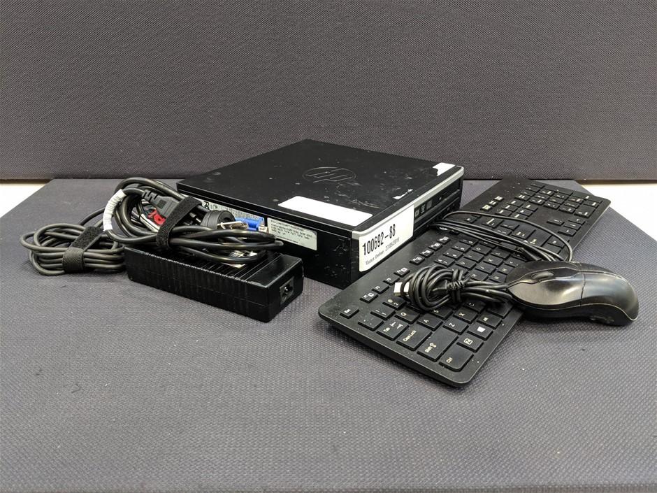 HP Compaq Elite 8300 USDT Slimline Case Desktop PC