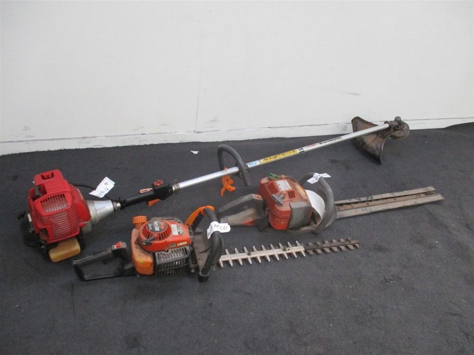 Qty 3 x Garden Maintenance Equipment