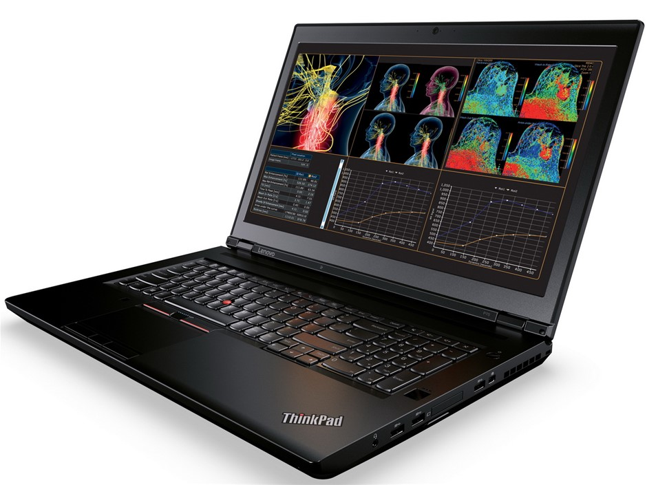 Lenovo ThinkPad P70 Notebook, Black