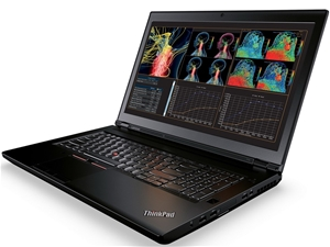 Lenovo ThinkPad P70 Notebook, Black