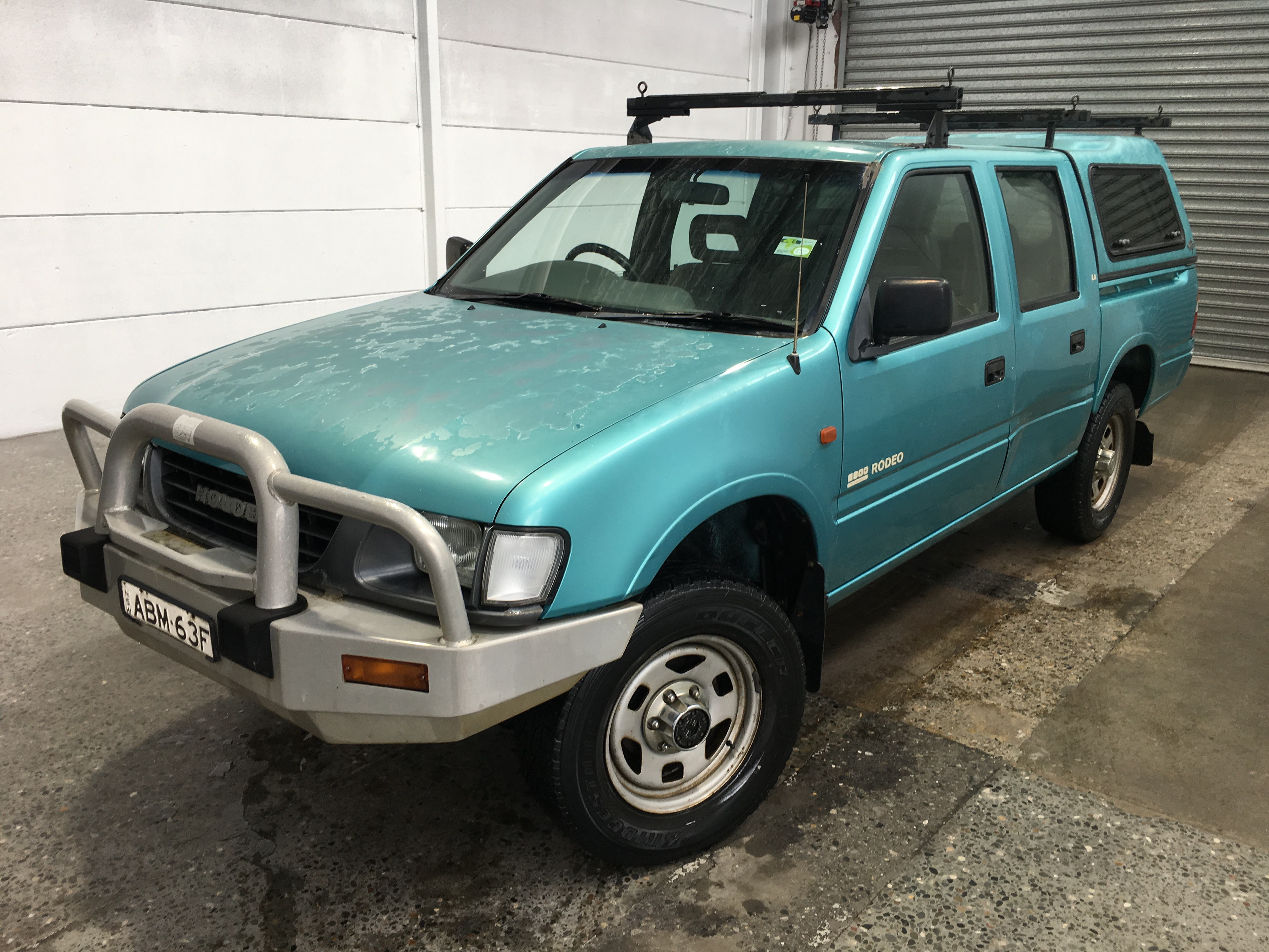 1997 Holden Rodeo LX (4x4) Turbo Diesel Manual Dual Cab